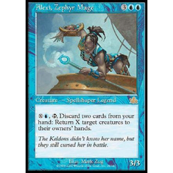 Magic löskort: Prophecy: Alexi, Zephyr Mage
