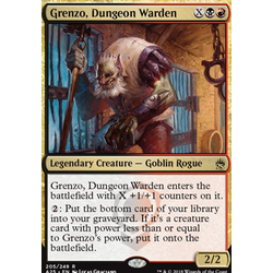 Magic löskort: Masters 25: Grenzo, Dungeon Warden