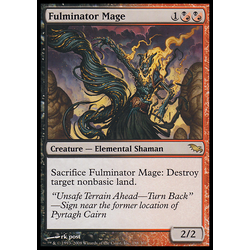 Magic löskort: Shadowmoor Fulminator Mage