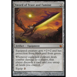 Magic löskort: Mirrodin Besieged: Sword of Feast and Famine