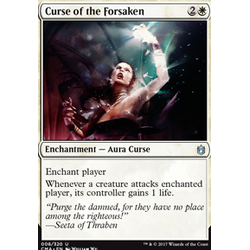 Magic löskort: Commander Anthology: Curse of the Forsaken
