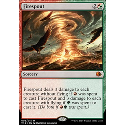 Magic löskort: Annihilation: Firespout