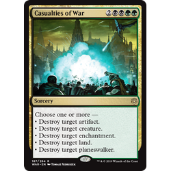 Magic löskort: War of the Spark: Casualties of War