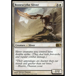 Magic löskort: Magic 2014: Bonescythe Sliver
