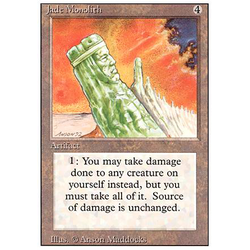 Magic löskort: Revised: Jade Monolith