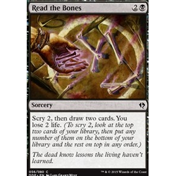 Magic löskort: Zendikar vs Eldrazi: Read the Bones