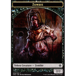 Magic löskort: Conspiracy: Take the Crown: Zombie Token