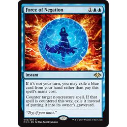 Magic löskort: Modern Horizons: Force of Negation
