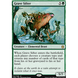 Magic löskort: Commander Anthology: Grave Sifter