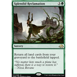 Magic löskort: Eldritch Moon: Splendid Reclamation