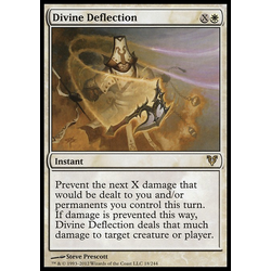 Magic löskort: Avacyn Restored: Divine Deflection