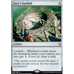 Magic löskort: Zendikar vs Eldrazi: Seer's Sundial
