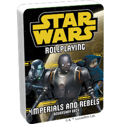 Star Wars: Age of Rebellion / Edge of the Empire: Imperials and Rebels III Adversary Deck