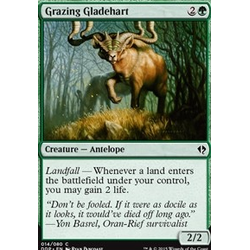 Magic löskort: Zendikar vs Eldrazi: Grazing Gladehart