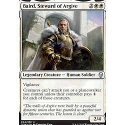 Magic löskort: Dominaria: Baird, Steward of Argive
