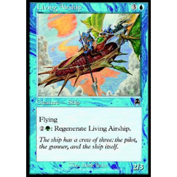 Magic löskort: Apocalypse: Living Airship