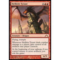Magic löskort: Gatecrash: Hellkite Tyrant