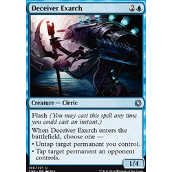 Magic löskort: Conspiracy: Take the Crown: Deceiver Exarch (foil)