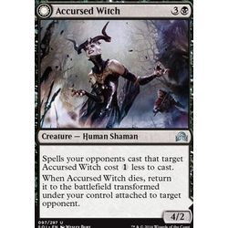 Magic löskort: Shadows over Innistrad: Accursed Witch