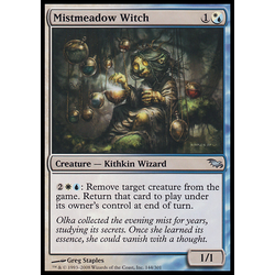 Magic löskort: Shadowmoor Mistmeadow Witch
