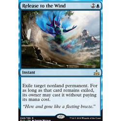 Magic löskort: Rivals of Ixalan: Release to the Wind
