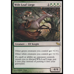 Magic löskort: Shadowmoor: Wilt-Leaf Liege