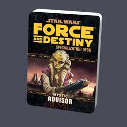 Star Wars: Force and Destiny: Specialization Deck Mystic Advisor