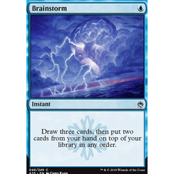 Magic löskort: Masters 25: Brainstorm