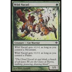 Magic löskort: Shards of Alara: Wild Nacatl