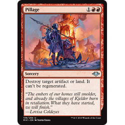 Magic löskort: Modern Horizons: Pillage