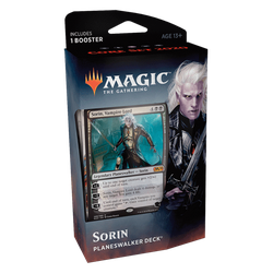 Magic The Gathering: Core 2020 (M20) Planeswalker Deck - Sorin (black)