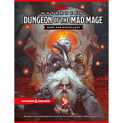 D&D 5.0: Waterdeep - Dungeon of the Mad Mage Maps & Miscellany