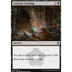 Magic löskort: Masters 25: Ancient Craving