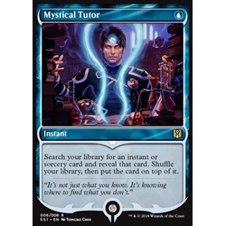 Magic löskort: Signature Spellbook: Jace: Mystical Tutor