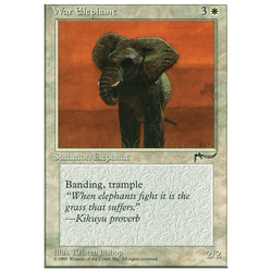 Magic löskort: Chronicles: War Elephant