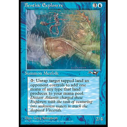 Magic löskort: Alliances: Benthic Explorers v.1