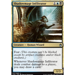 Magic löskort: Masters 25: Shadowmage Infiltrator