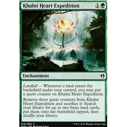 Magic löskort: Zendikar vs Eldrazi: Khalni Heart Expedition