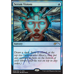 Magic löskort: FNM Promo: Serum Visions (Foil)