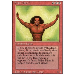 Magic löskort: Revised: Mijae Djinn