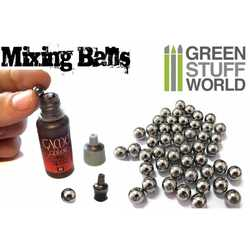 Paint Mixing Steel Bearing Balls in 6.5mm
