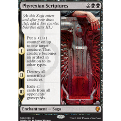 Magic löskort: Dominaria: Phyrexian Scriptures