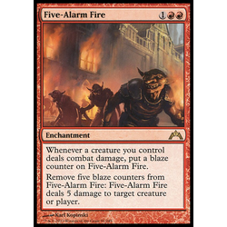 Magic löskort: Gatecrash: Five-Alarm Fire