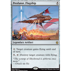 Magic löskort: Commander Anthology: Predator, Flagship
