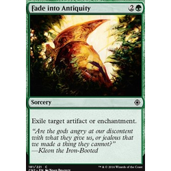 Magic löskort: Conspiracy: Take the Crown: Fade into Antiquity