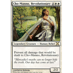 Magic löskort: 10th Edition: Cho-Manno, Revolutionary