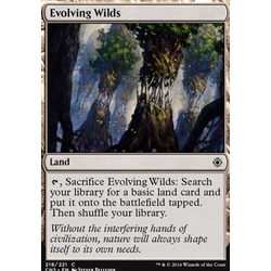 Magic löskort: Conspiracy: Take the Crown: Evolving Wilds
