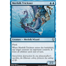 Magic löskort: Dominaria: Merfolk Trickster