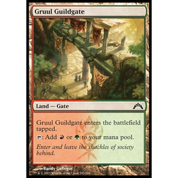 Magic löskort: Gatecrash: Gruul Guildgate