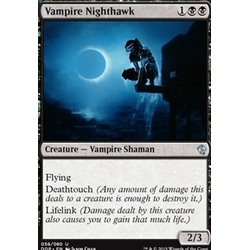 Magic löskort: Zendikar vs Eldrazi: Vampire Nighthawk